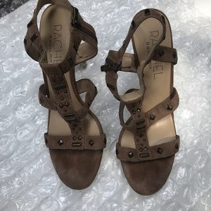 Rachel Roy | Suede Studded Heels